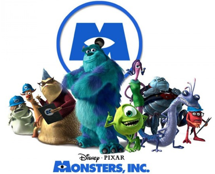 Sevimli Canavarlar Monsters, Inc. 3D